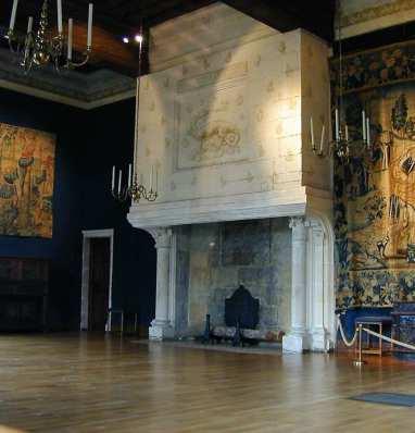 De início, Chambord foi um pavilhão de caça do rei Francisco I