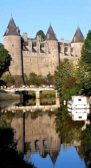 Castelo de Josselin e os príncipes de Rohan: matrimônio indissolúvel