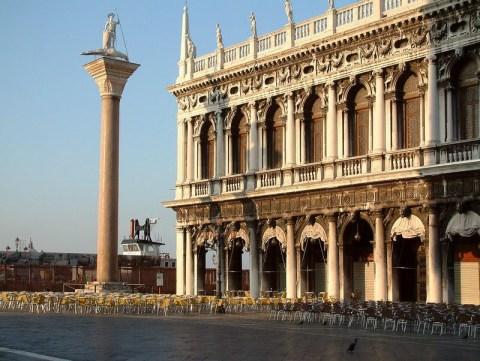 Os reis da Itália unificada não tiveram coragem de morar no Palácio dos Doges
