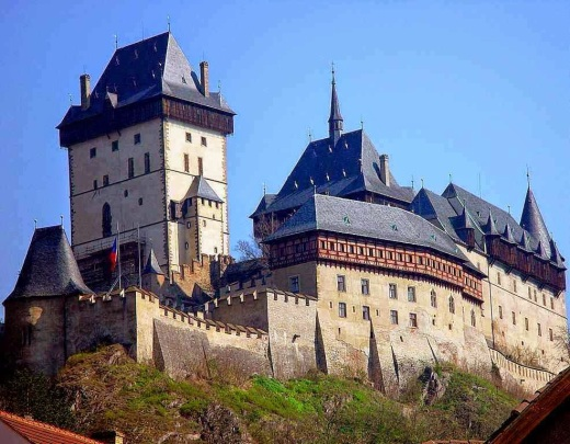 Castelo de Karlstejn. República Checa.