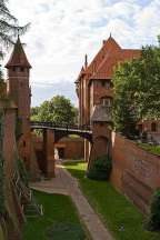 Malbork (Marienburg), capital do Estado cruzado e religioso da Ordem Teutônica