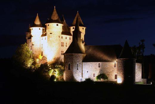 Castelo de Val, na Dordogne, França