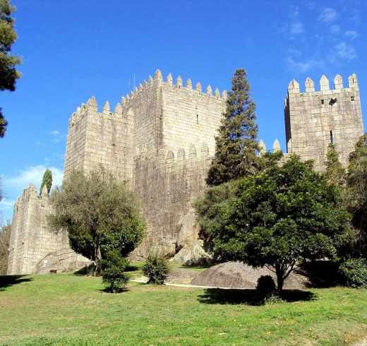 Castelo medieval de Guimarães